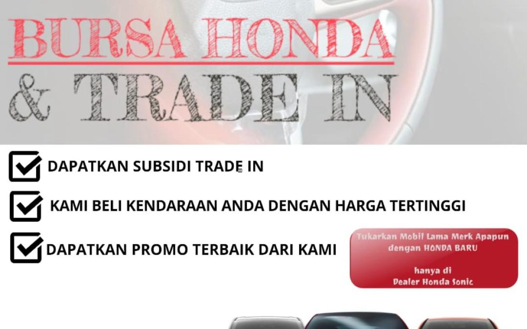 trade in mobil honda